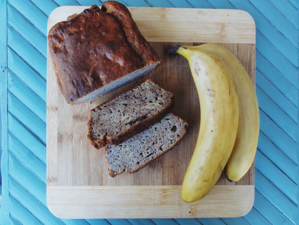 Get some banana bread into you!